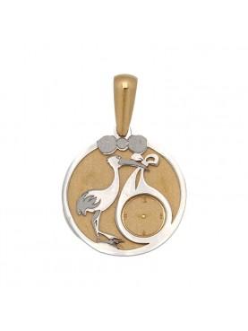 Medalla bebé cigüeña