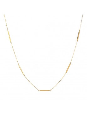 Collar oro tipo choker